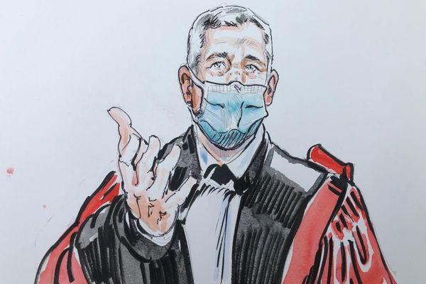 Le président de la cour d'assises de la Savoie.