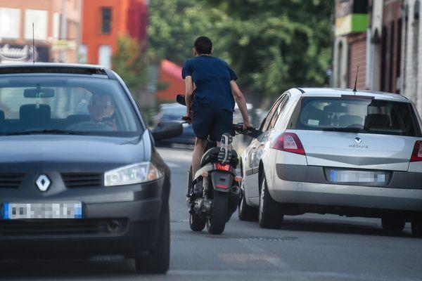 Lors de la victoire de l'Algérie en demi-finale de la CAN, plusieurs conducteurs avaient participé à des rodéos urbains. Photo d'illustration.