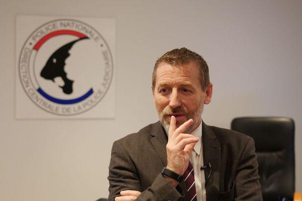 Romuald Muller, directeur interrégional de la police judiciaire de Lille.