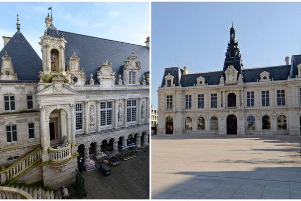 hôtel de ville - La Rochelle / Poitiers