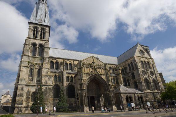 La cathédrale de Notre-Dame-en-Vaux, à Châlons-en-Champagne (Marne).