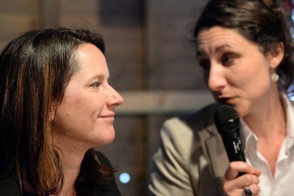 Johanna Rolland et Pascale Chiron ont présenté leur partenariat pour Nantes avant de fusionner leurs listes pour le second tour l'élection municipale