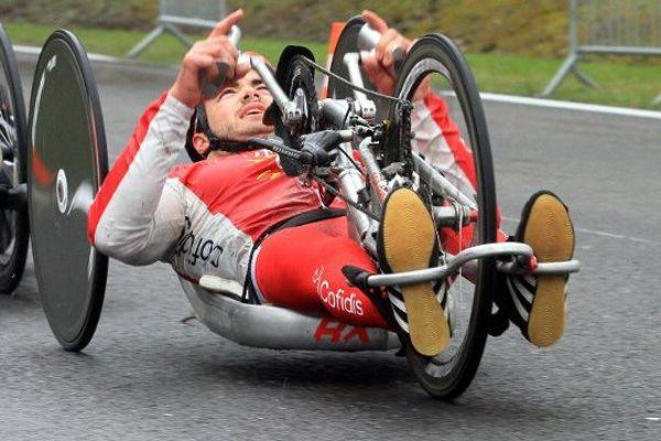 Mathieu Bosredon est à une étape de la qualification pour les Jeux Paralympiques de Rio