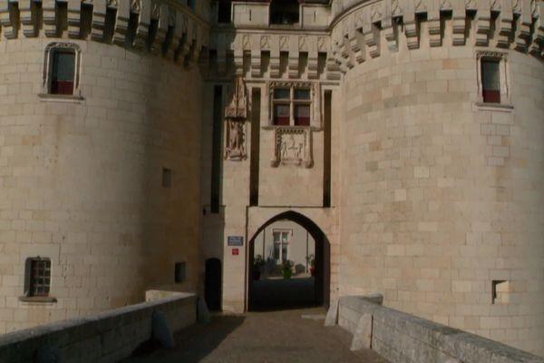 Le château de Dissay dans la Vienne.
