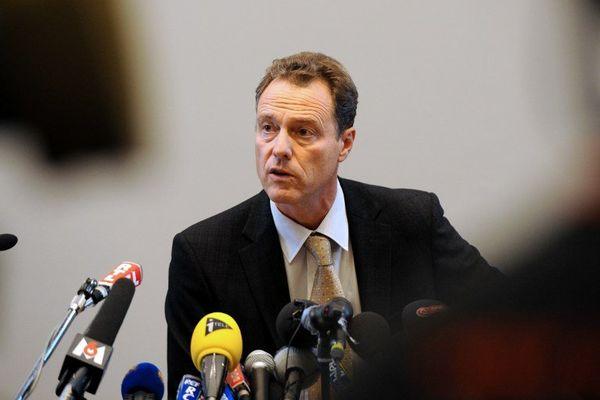 Le procureur d'Annecy, Eric Maillaud