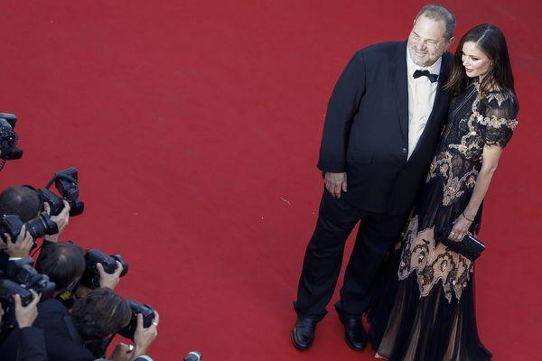 Chaque année, Harvey Weinstein se montre à Cannes.