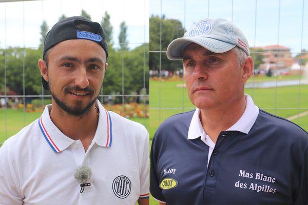 Troisième partie de ce mondial sur le terrain d'honneur de France 3 entre Baudino et Loy.