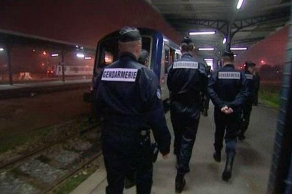 les premiers contrôles matinaux ont eu lieu en gare de Dieppe