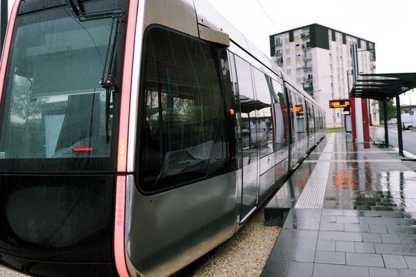 Tram de Tours. Photo d'illustration.