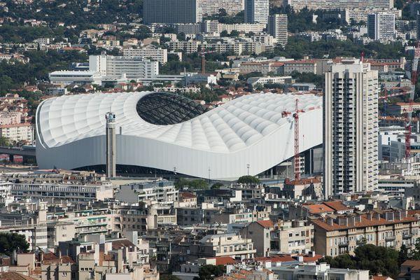 Le stade Vélodrome d'ou partira et arrivera un contre la montre