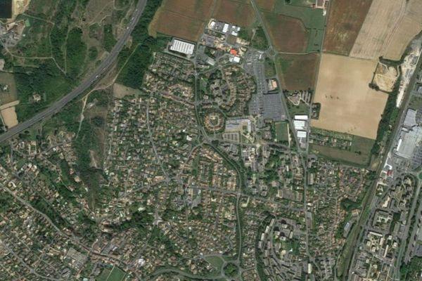 Le quartier des Saugeraies à Mâcon.