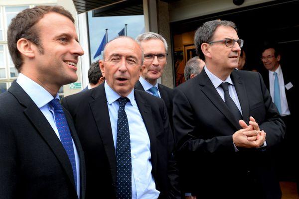 Le parti d'Emmanuel Macron a choisi Gérard Collomb dans la course à la métropole, éloignant par la même occasion David Kimelfeld d'En Marche.