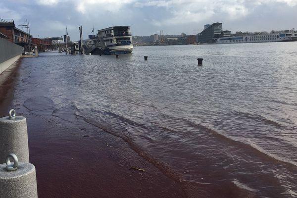 La crue de la Seine rive droite en février 2020