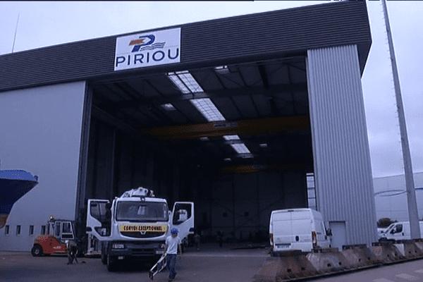 chantier naval Piriou à Lorient