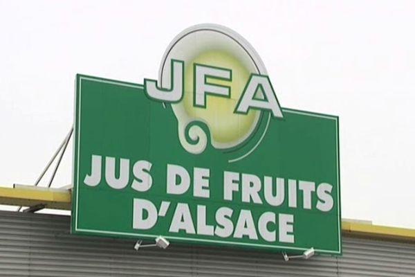 L'entreprise Jus de Fruits Alsace à Sarre-Union