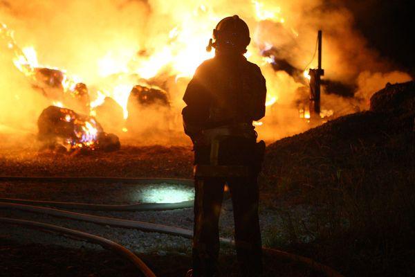 Photo d'illustration. L'incendie à Vignoux-sur-Barangeon (Cher) a été déclaré aux alentours d'une heure du matin.
