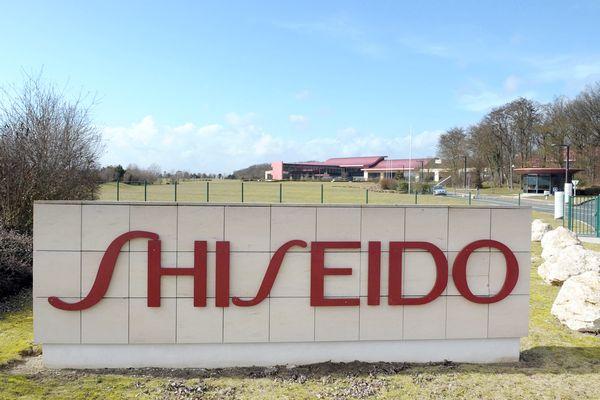 L'entrée du site de Shiseido à Ormes, dans le Loiret, en 2010.