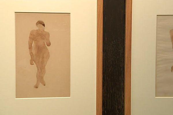 Le musée Fabre de Montpellier détient dans ses archives 80 dessins de Joseph Durand, l'élève de Rodin - 27 octobre 2017.