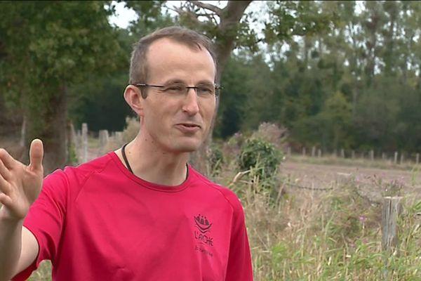 Timothée Lambert, prêtre de la Suze participe de nouveau au 100km de Millau