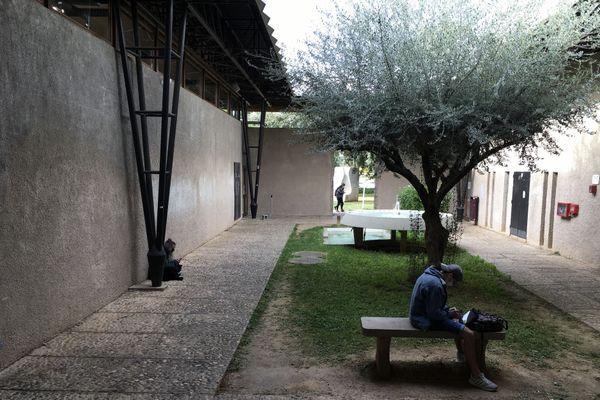 L'Université Paul Valéry à Montpellier, vide d'étudiants