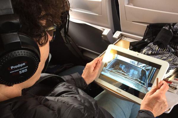Pendant le Festival International du Court Métrage, des trains du Polar circulent entre Paris et la capitale... du Court.