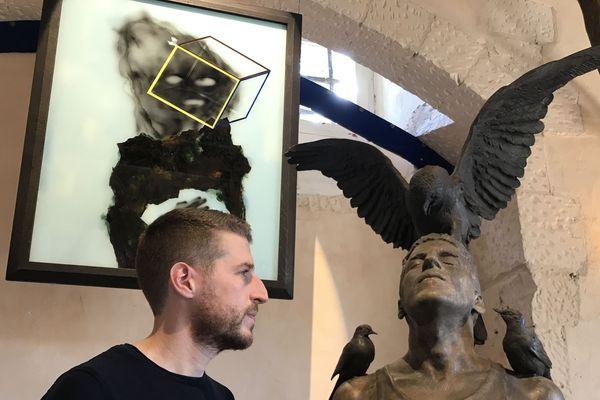 où l'on retrouve l'oiseau fétiche de Léonard de Vinci