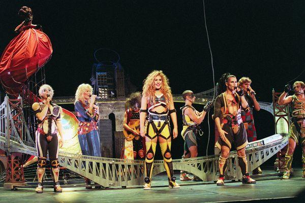 Starmania au Théâtre Mogador à Paris en septembre 1993