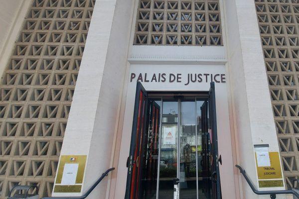 La palais de justice de Saint-Nazaire, janvier 2020