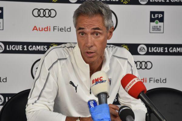 Paulo Souza, entraîneur de Bordeaux