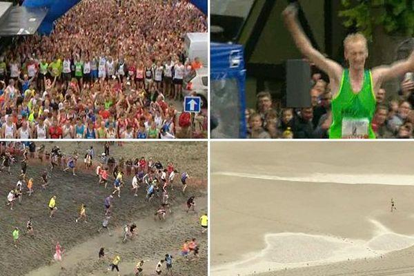 Dans le sable et la boue, plus de 7000 coureurs ont participé à cette course, remportée par un Picard.