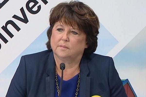Martine Aubry, le 13 octobre 2016 à Lille