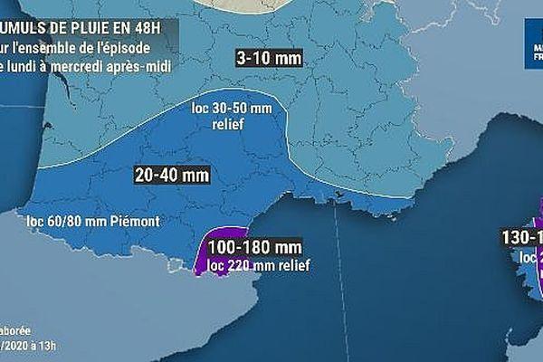 Le département des Pyrénées-Orientales est placé en vigilance jaune pour les crues jusqu'à la mi-journée au moins.