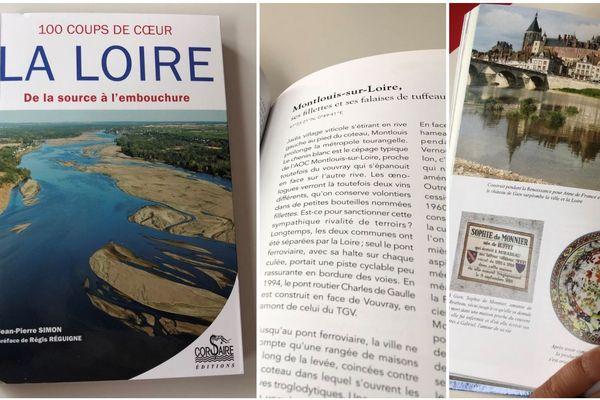 """Dans la collection 100 coups de cœur des éditions Corsaire, """"La Loire de la source à l'embouchure"""" de Jean-Pierre Simon. En librairie le 15 septembre 2019."""