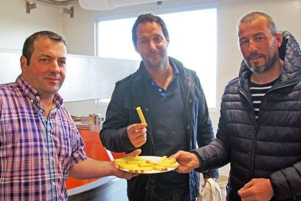 Thomas Pesquet en visite à la fromagerie de Plasne dans le jura