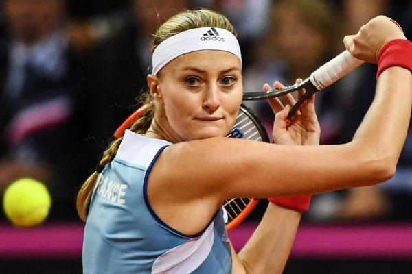 Kristina Mladenovic de nouveau titulaire en Fed Cup.