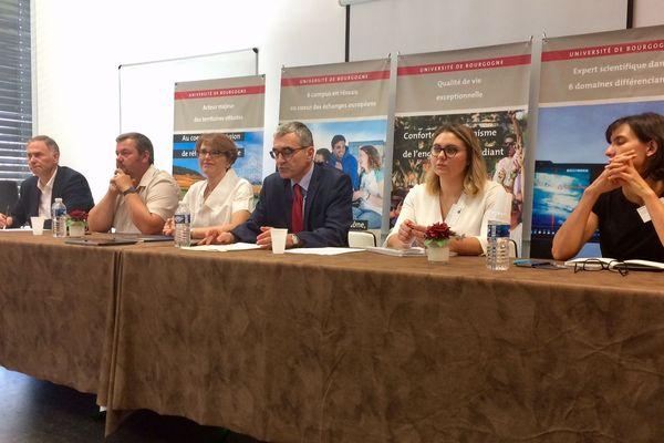 La conférence de rentrée de l'université de Bourgogne a eu lieu lundi 10 septembre à Dijon