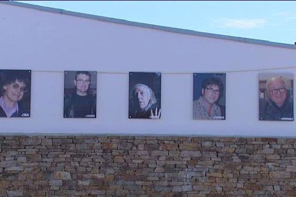 L'hommage du salon de Saint-Just-le-Martel à ses amis disparus.