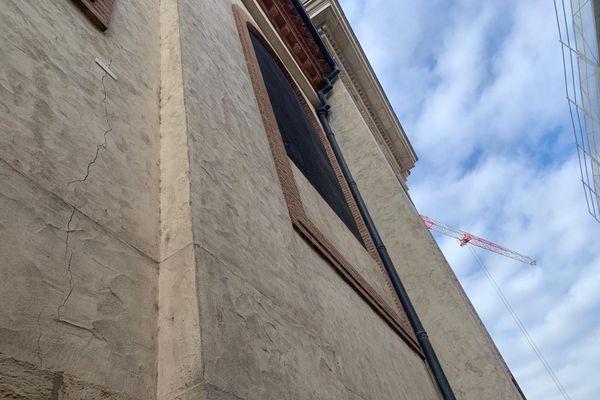 Des fissures sont apparues sur la cathédrale de Montauban