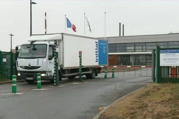 L'entreprise Ibiden, à Courtenay (Loiret).