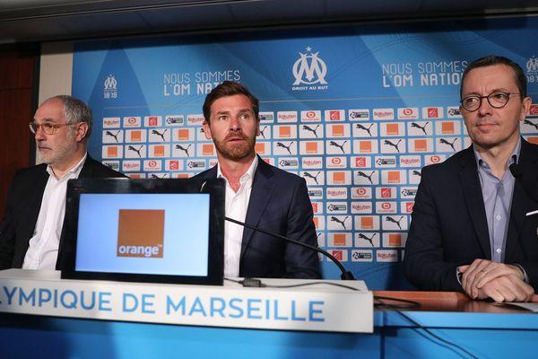 Villas-Boas nouvel entraîneur de l'Olympique de Marseille.