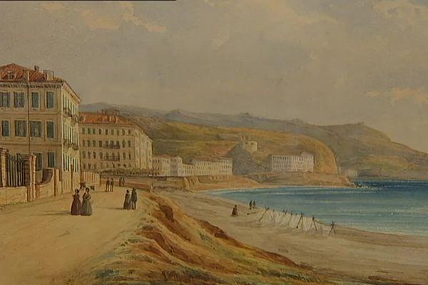 Au début du XVIII ème la Promenade des Anglais n'était q'un chemin de sable.