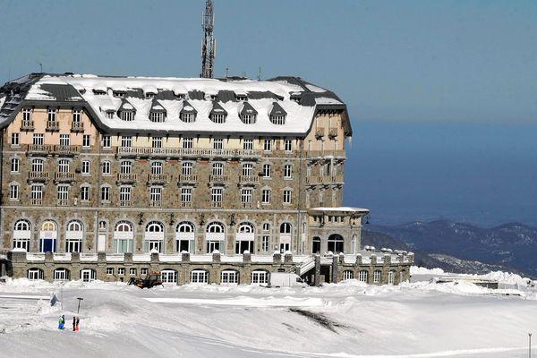 Le grand hôtel fut achevé en 1912