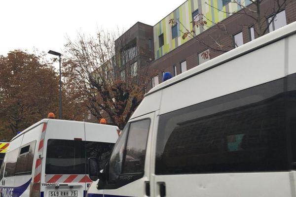 La police est intervenue ce mardi 29 octobre pour procéder à l'évacuation.