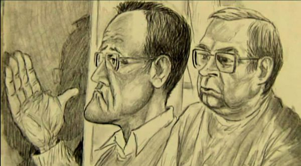 Christophe Rayé 39 ans et Claude Juillet 55 ans lors de leur procès