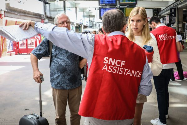 Après l'incident électrique qui impacte le trafic SNCF, les voyageurs à Montparnasse cherchent des solutions