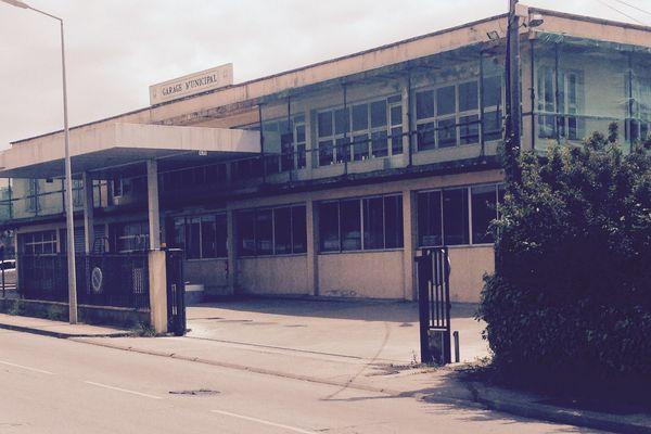 L'agression a eu lieu dans ces locaux techniques de la ville d'Ajaccio, route de Mezzavia