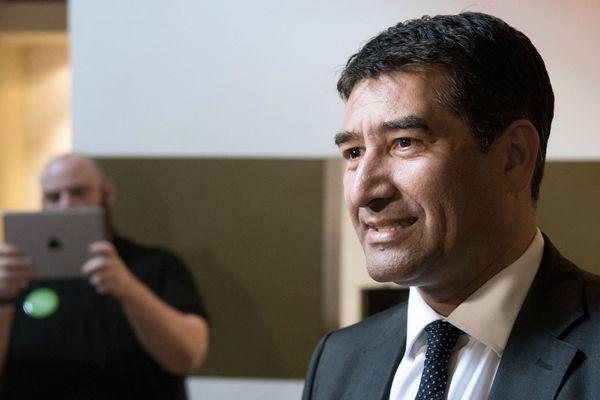 Archives. L'élu marseillais Karim Zeribi en 2014, avant d'être rattrapé par la justice pour des fais personnes des faits d'abus de confiance et d'abus de biens sociaux.