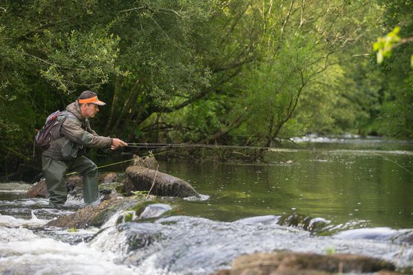Les pêcheurs peuvent à partir du mercredi 14 avril aller pratiquer leur passion à 30 km autour de leur domicile.