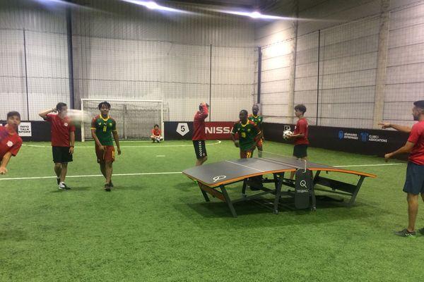 Le Reims Métropole Teqball est le premier club de France de la discipline