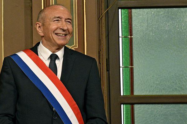 Gérard Collomb a été réelu maire de Lyon dès le premier tour de scrutin.